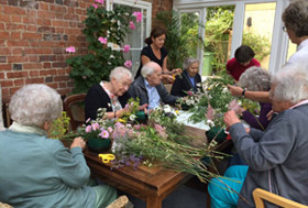 activity dyas at Coombe House care home