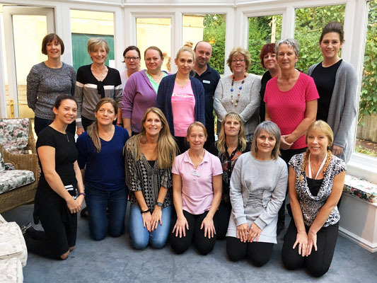 staff at Coombe House